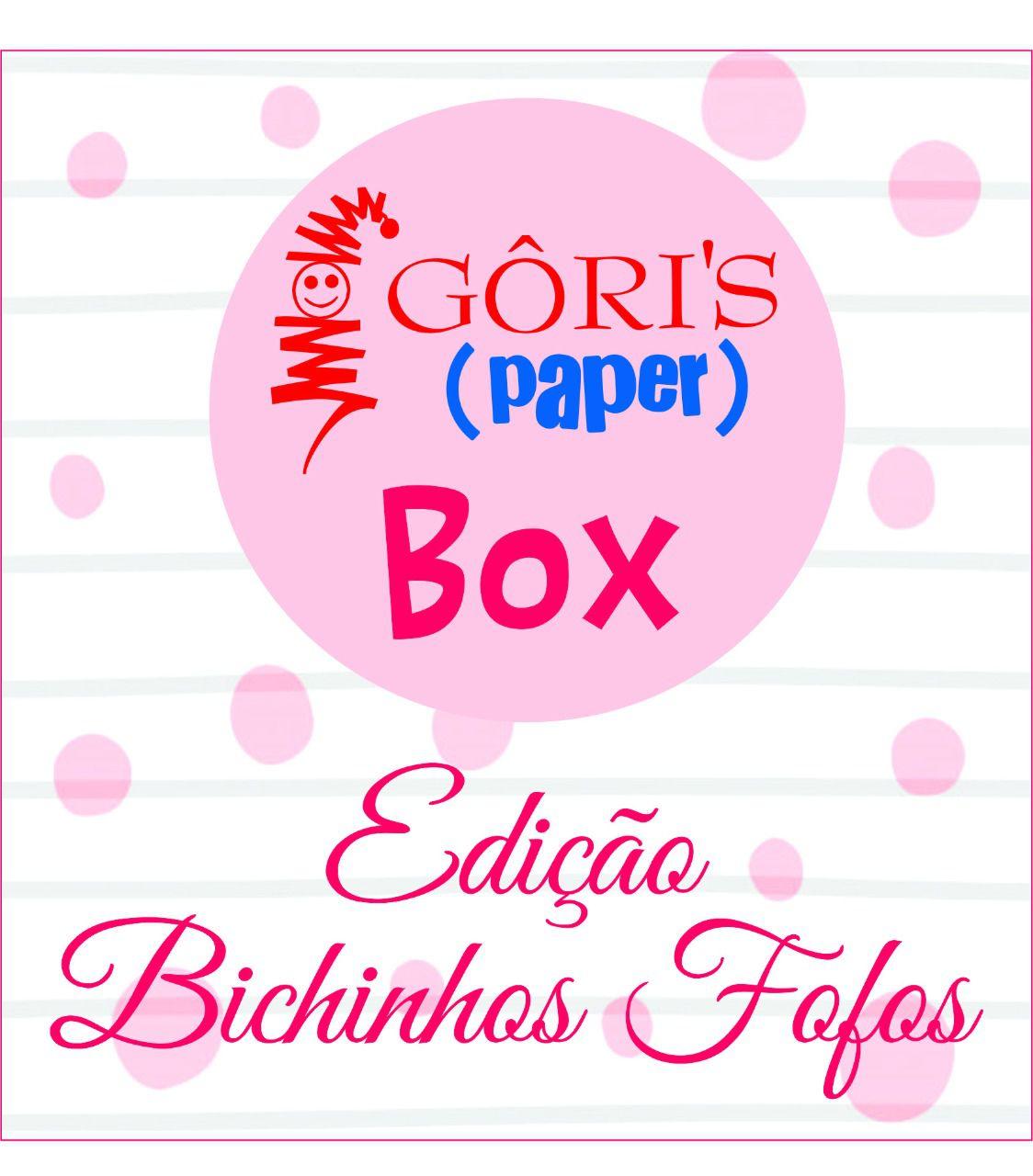 Box Mensal Bichinhos Fofos