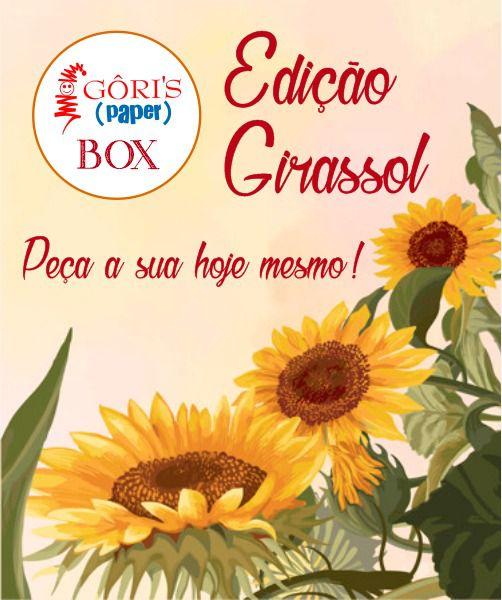 Box Mensal Edição Girassol