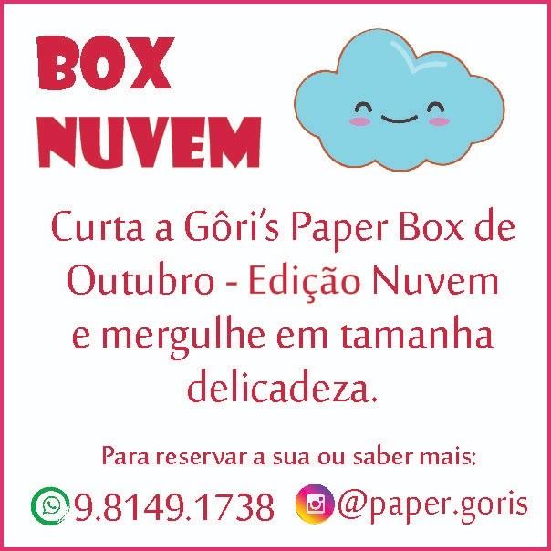 Box Mensal Edição Nuvem Tie Dye