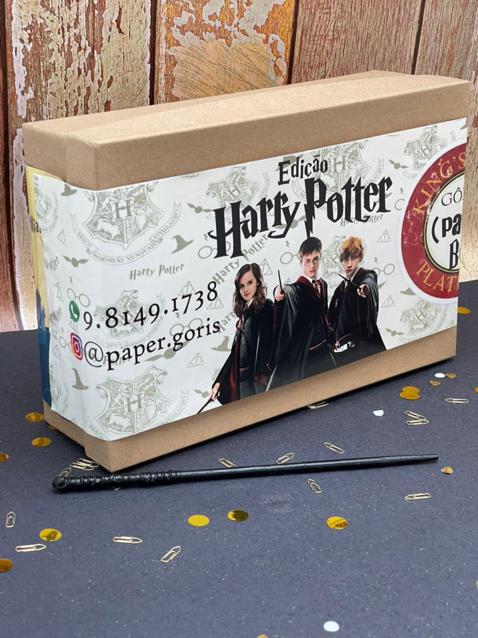 Box Mensal Edição Harry Potter