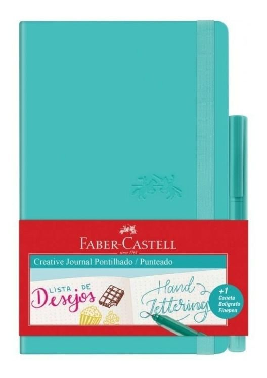 Caderneta Pontilhada Creative Faber-Castell