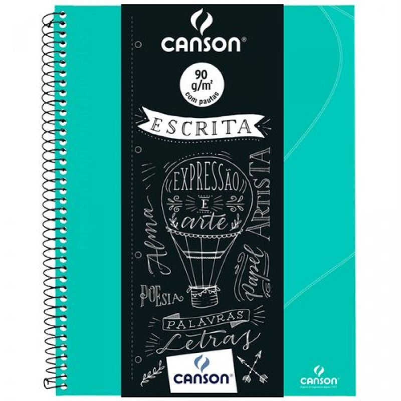Caderno Canson (Oxford) 90 g/m² - C/ 80 Fls Canson