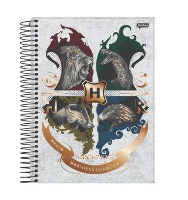 Caderno Colegial Capa Dura Harry Potter
