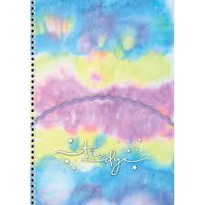 Caderno Colegial Espiral Tie Dye - SD