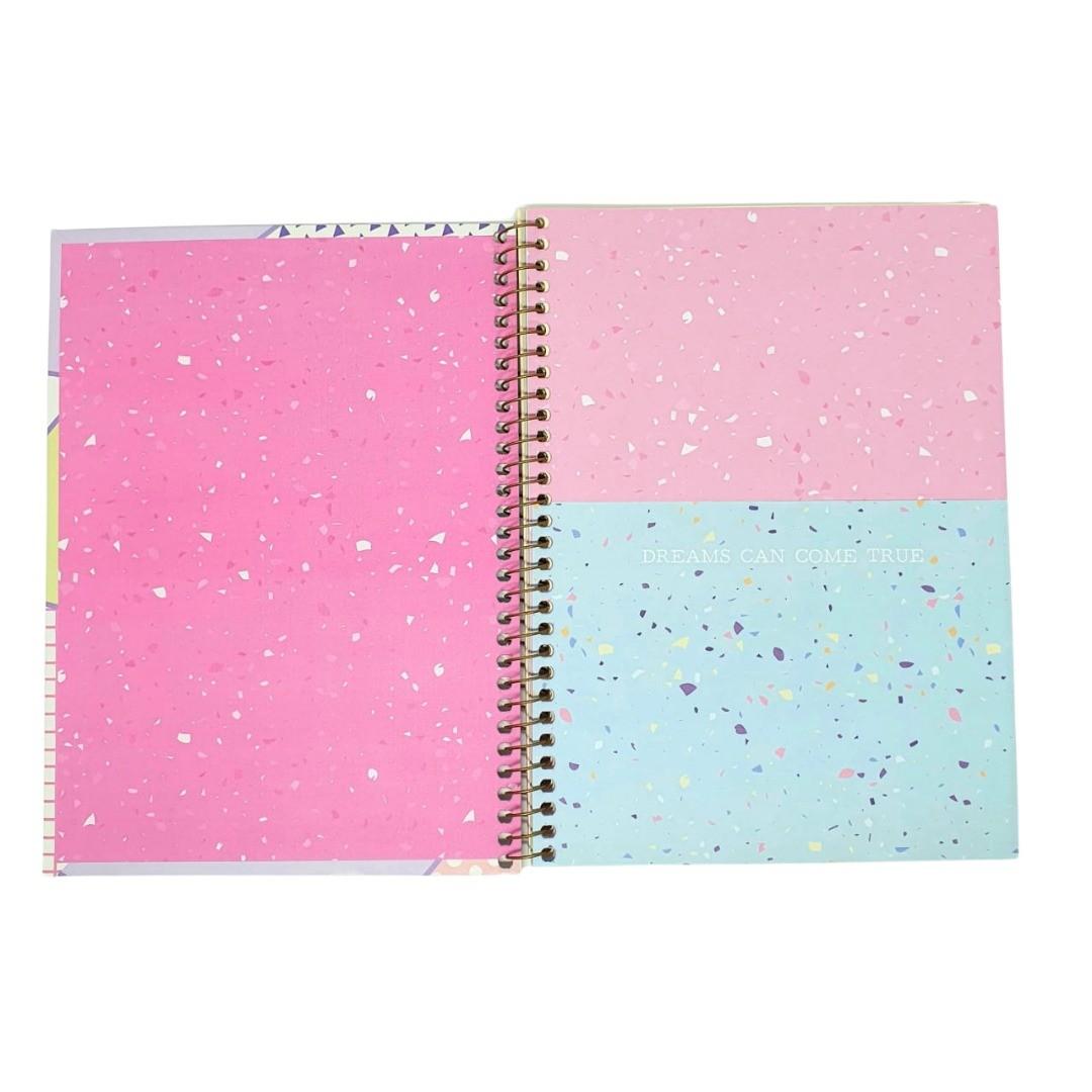 Caderno Colegial Petit de La Creme Jandaia - 80 folhas