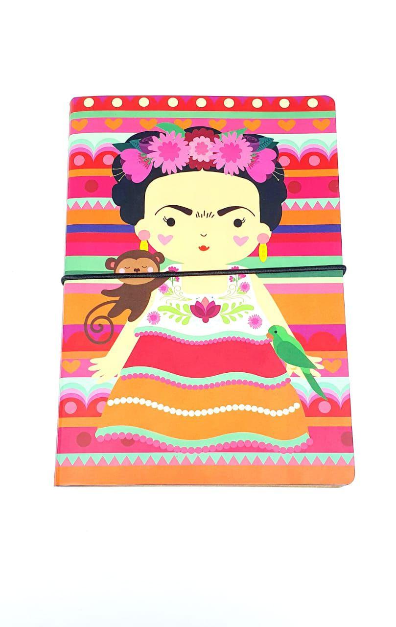 Caderno Duplo Colores Frida