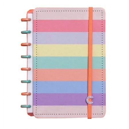 Caderno Inteligente A5 Arco-Íris Pastel