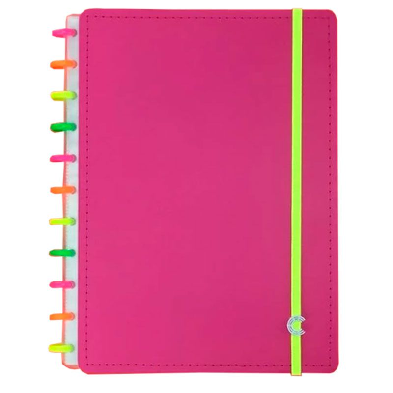 Caderno Inteligente Neon Vibes yasmin Universitário