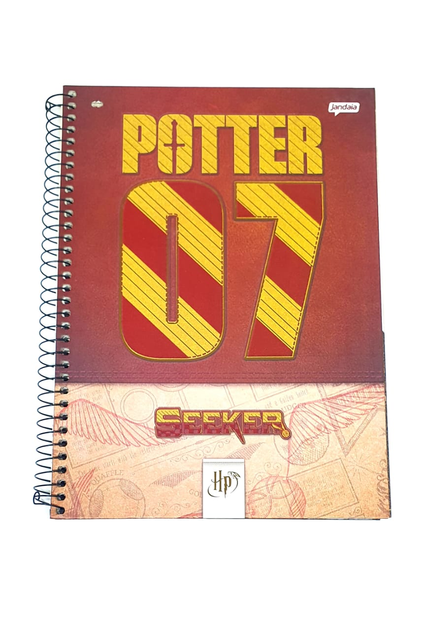Caderno Universitário HARRY POTTER 1 Matéria - Jandaia