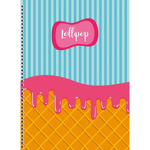 Caderno Universitário Lollipop