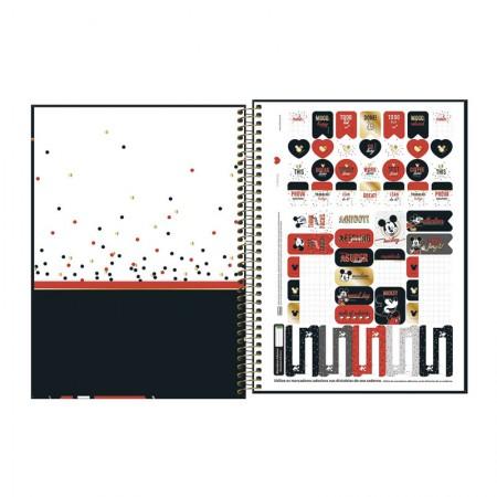Caderno Universitário Mickey C/ 80 Folhas