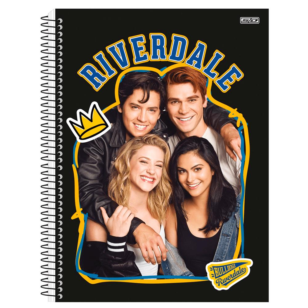 Caderno Universitário Riverdale 1 Matéria C/ 8 fls- SD