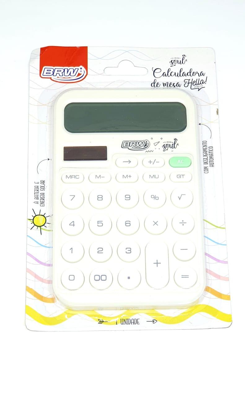 Calculadora De Mesa Branca Hello Branca - BRW
