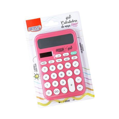 Calculadora De Mesa Hello Rosa - BRW