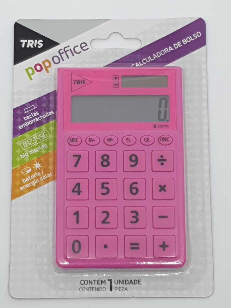 Calculadora POP OFFICE Tris
