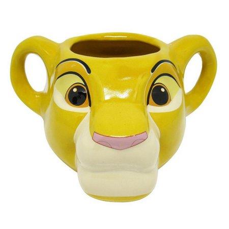 Caneca Formato 3D Rei Leão