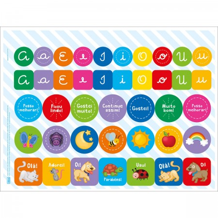 Cartilha de Alfabetização Letras Cursivas