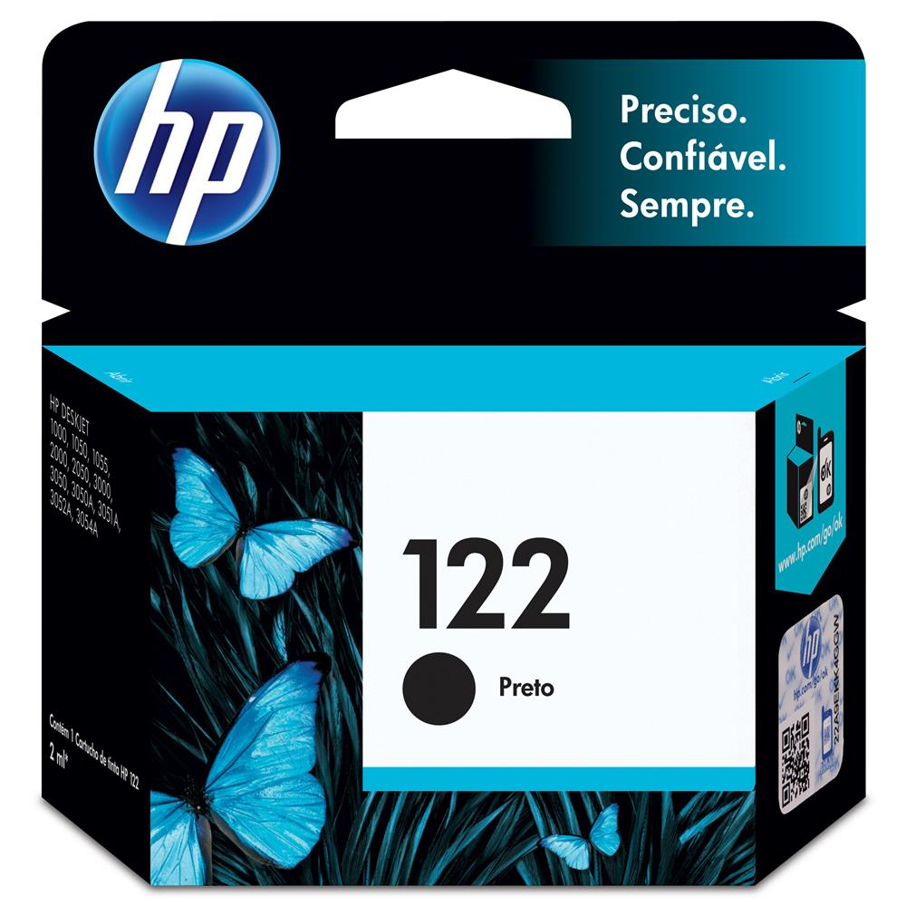 CARTUCHO HP 122 PRETO 2ML