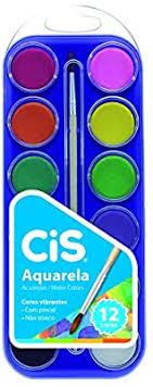 Cis Aquarela C/ 12 Cores