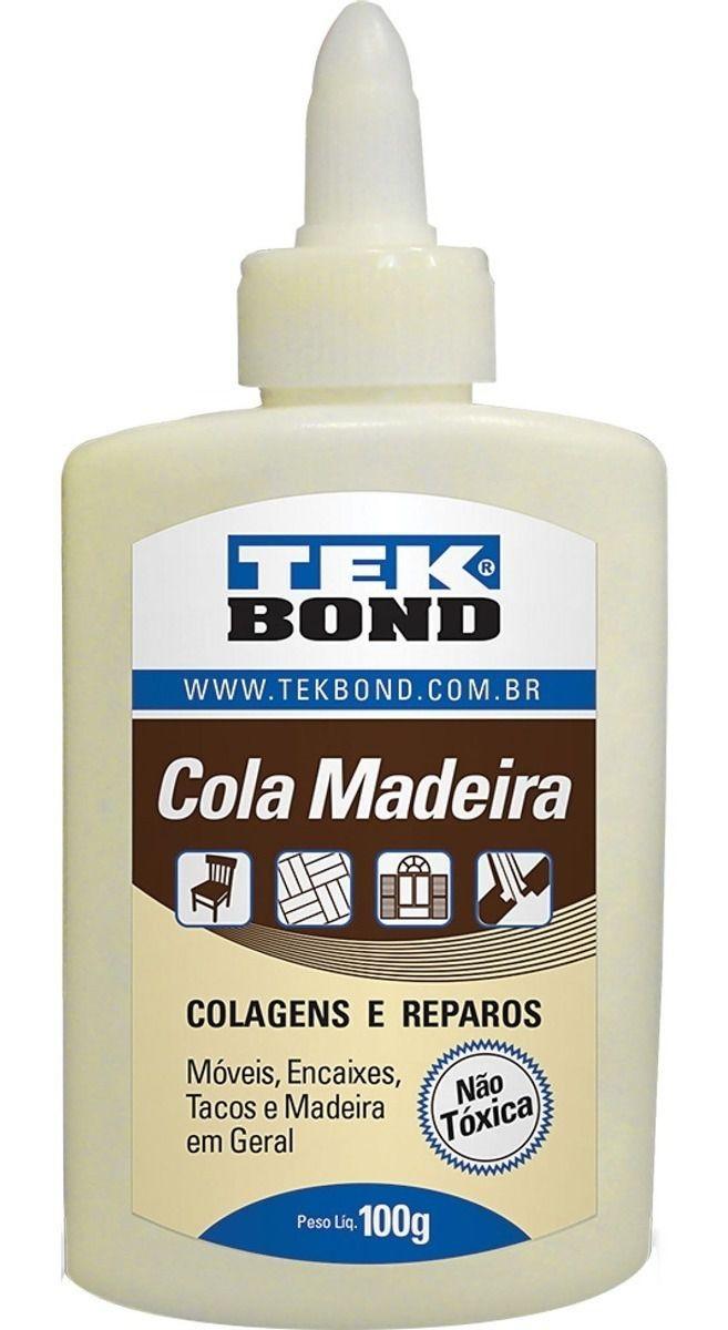 Cola Madeira Tek Bond