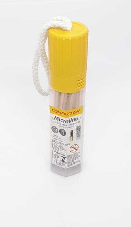 Conjunto De Canetas Compactor MICROLINE 0.4 mm