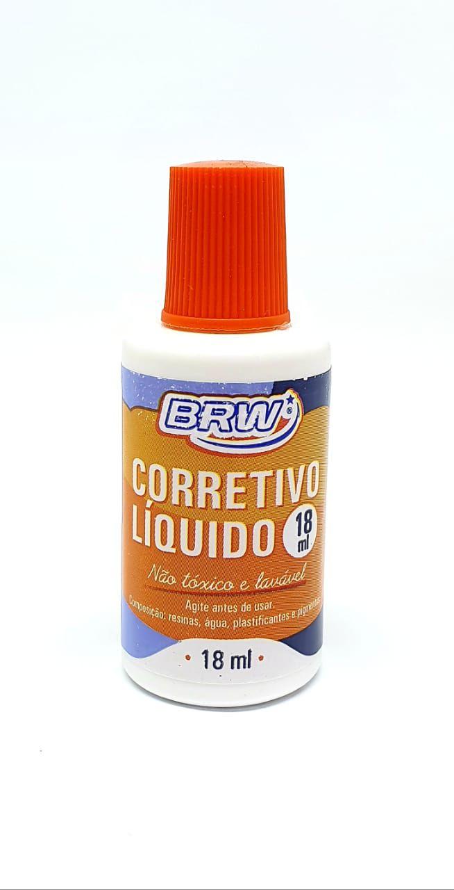 Corretivo Líquido 18 ml - BRW
