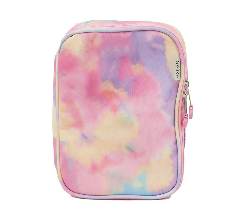 Estojo Box Urban Tie Dye Rosa