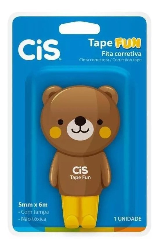 Fita Corretiva Tape fun - CIS