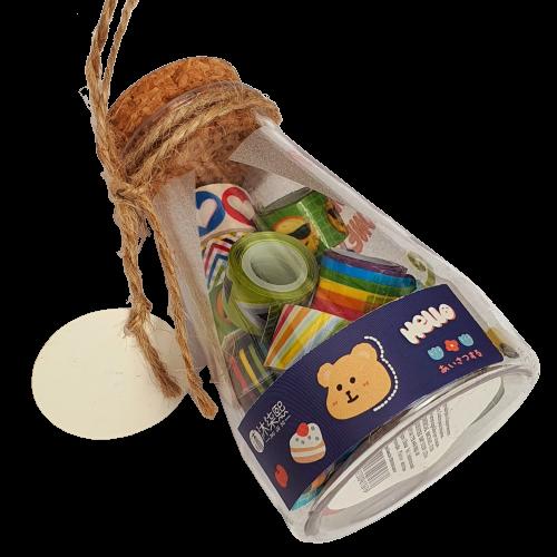 Garrafinha C/ Mini Washi Tape