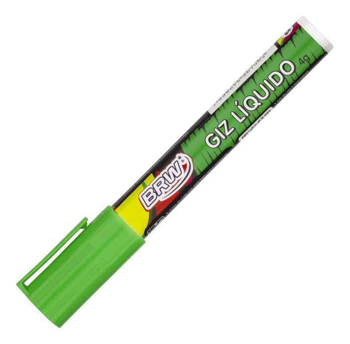 Giz Líquido Verde 4g - BRW