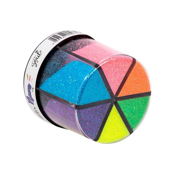 Glitter Shaker Neon Brw
