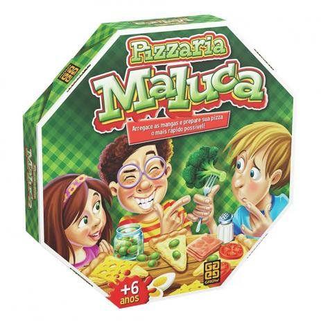 Jogo De Tabuleiro Pizzaria Maluca - GROW