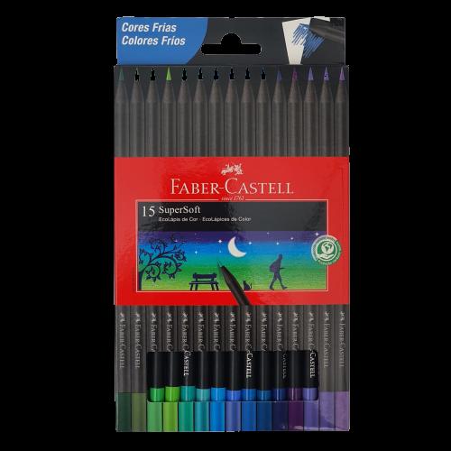 Lápis De Cor Super Soft Cores Frias