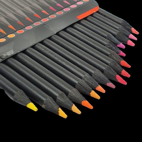 Lápis De Cor Super Soft Cores Quentes