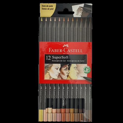 Lápis De Cor Super Soft Tons de Pele