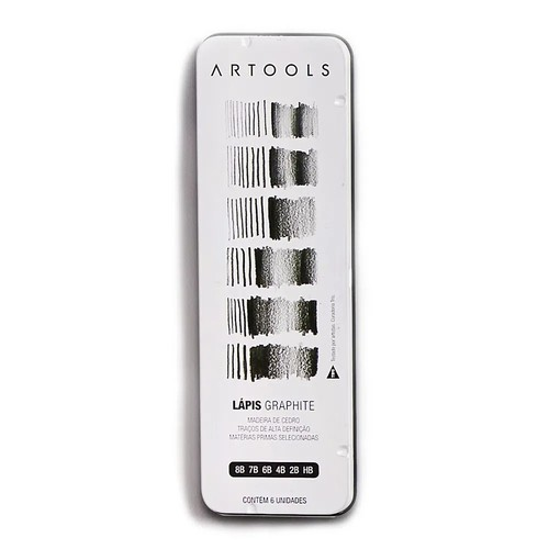 Lápis Graphite Artools C/ 6 Unidades