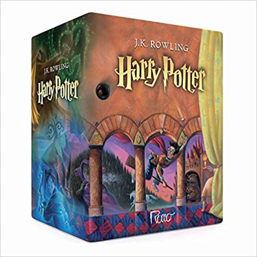 LIVRO BOX HARRY POTTER TRADICIONAL