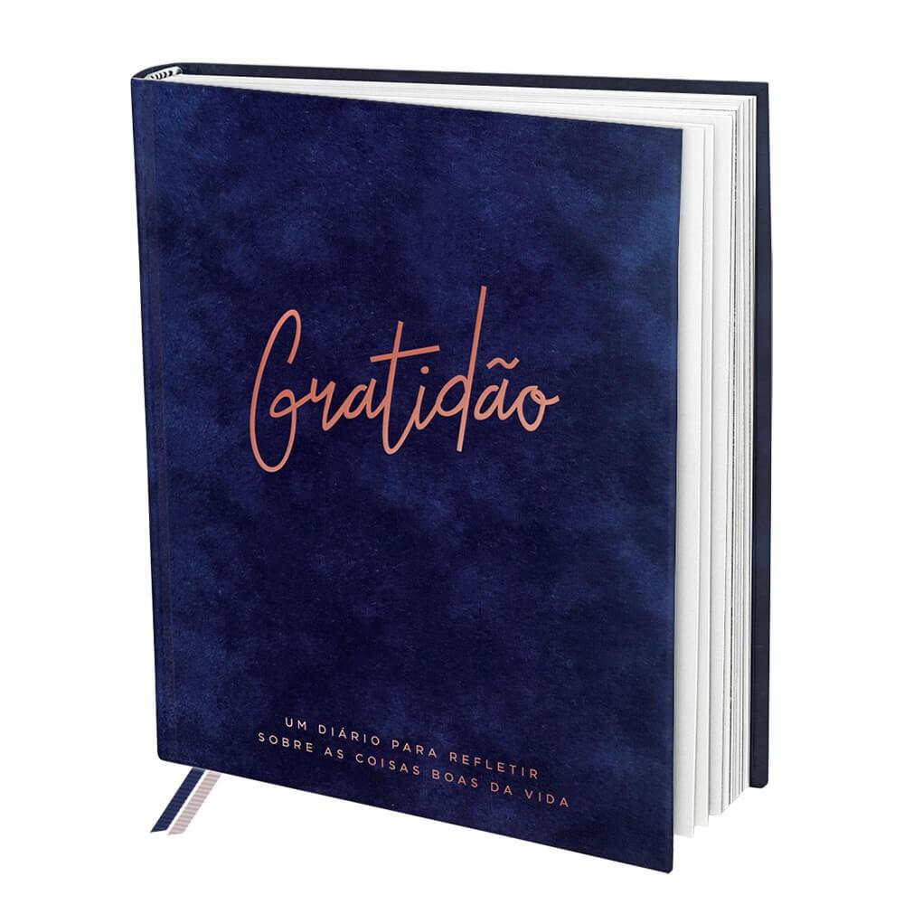 Livro De Anotações Gratidão C/ 160 folhas