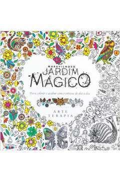 Livro Para Colorir Jardim Secreto