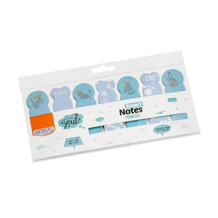 MARCADOR DE PÁGINA SMART NOTES MARKERS - BRW