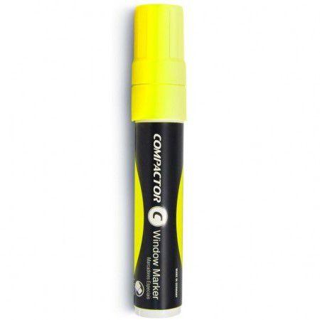 Marcador Para Vidro Window Marker Compactor - Amarelo
