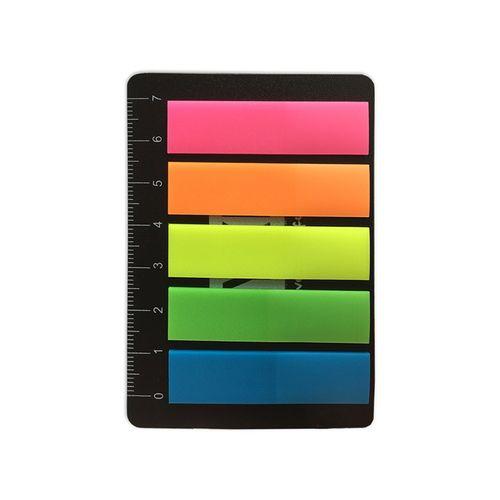 Marcadores De Páginas  + Régua Like Neon