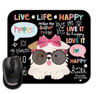 Mouse Pad Happy Dog - Raizler