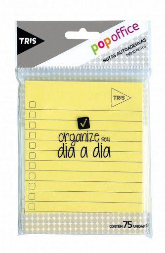 Notas Auto-adesivas Pop Office - TRIS