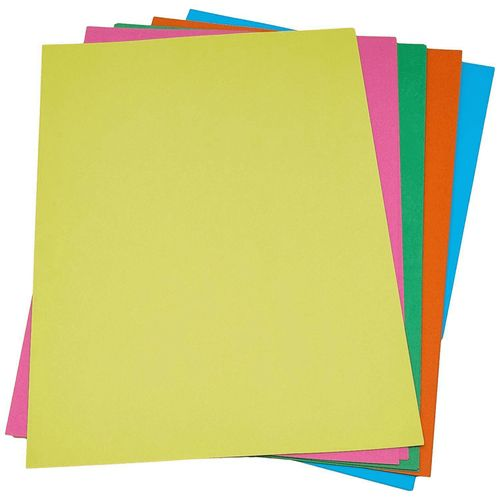 Papel Criativo Offpinho Lumi 120g C/ 25 Folhas Coloridas 5 Cores