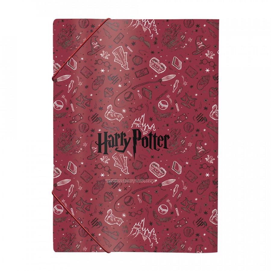 Pasta Aba Elástico Ofício Harry Potter