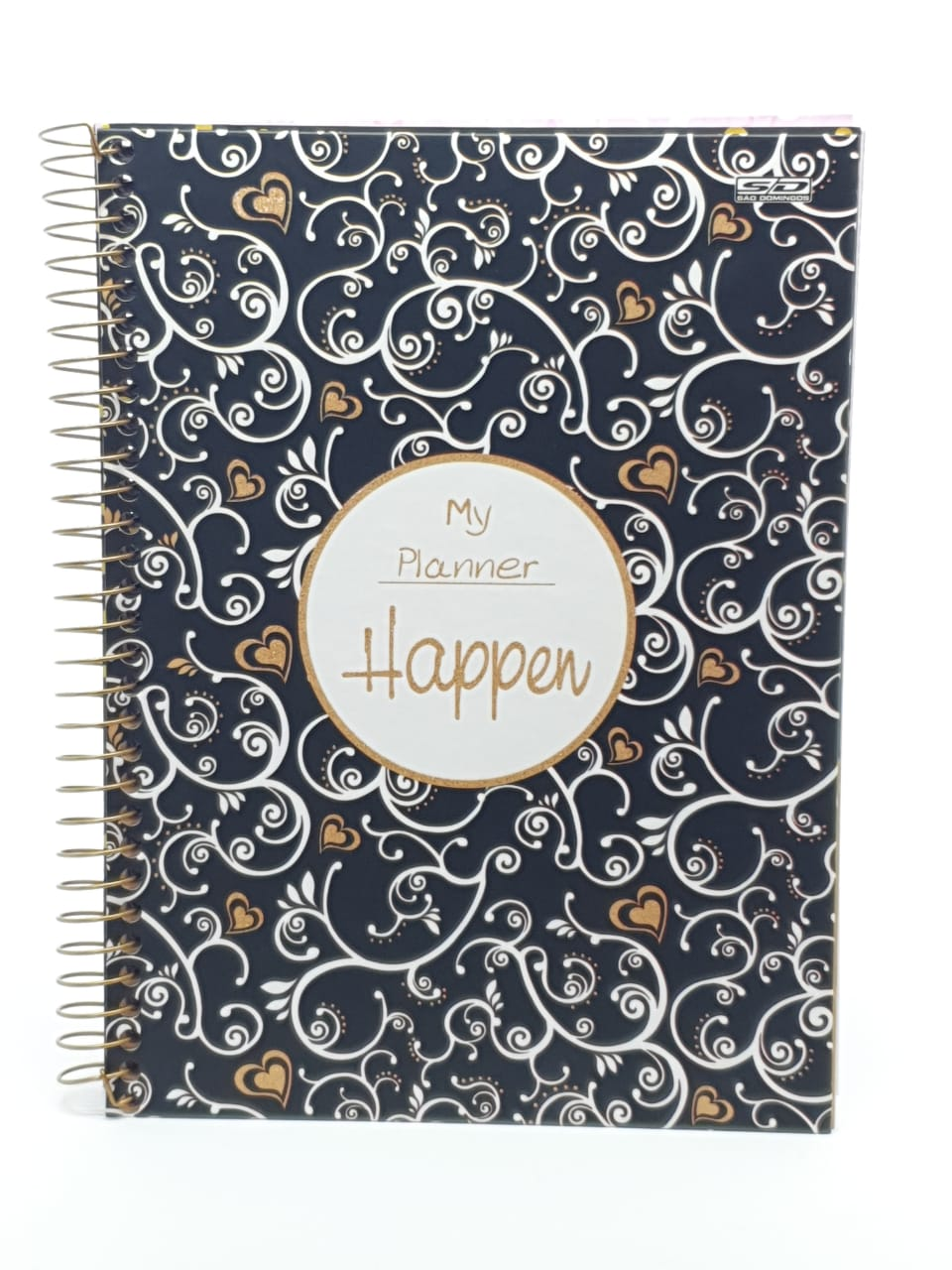 Planner Espiral HAPPEN Arabesco