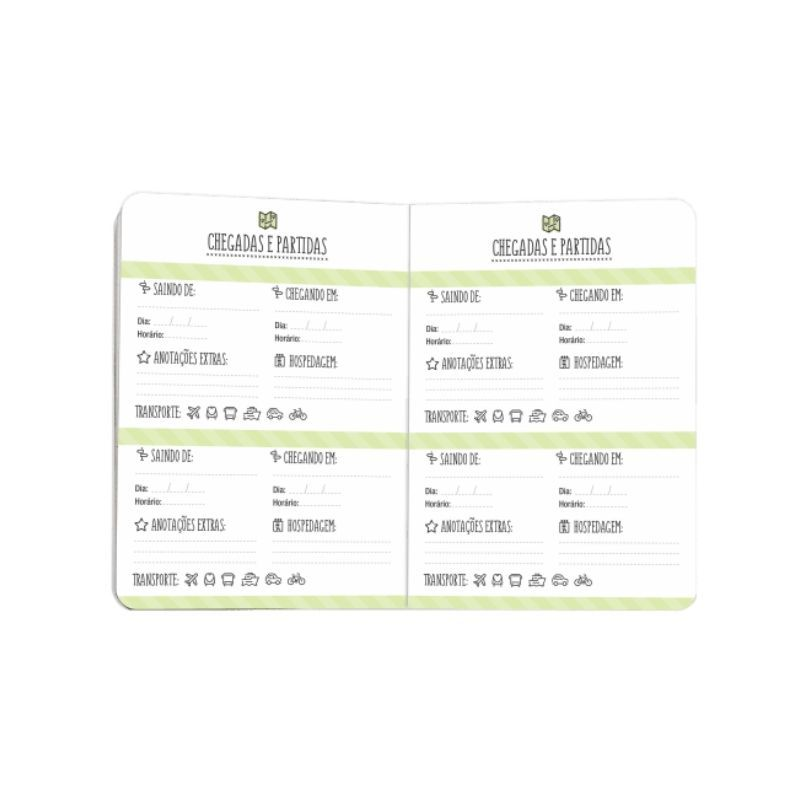 Planner Pocket Viagem - Cartões Gigantes