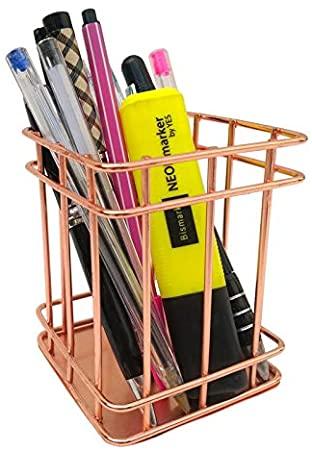 Porta canetas Rosé Gold