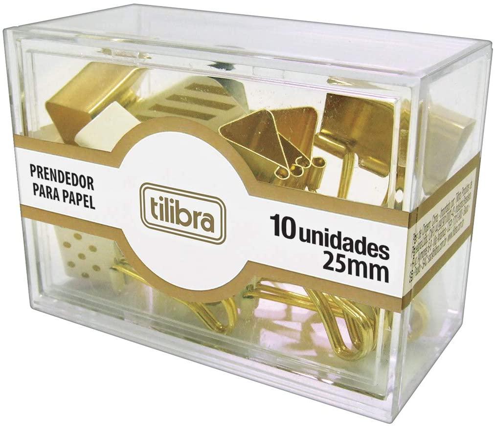 Prendedor Para Papel C/ 10 Unidades - Tilibra